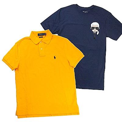[時時樂]Ralph Lauren短袖衫 & Karl老佛爺短袖T