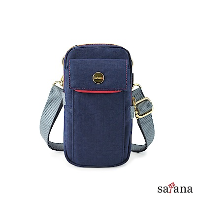 satana - Soldier 多功能外掛小斜背包 - 礦青藍