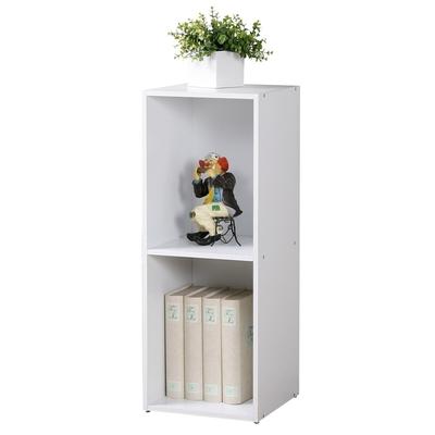 Homelike 現代風二格置物櫃-30x30x79cm