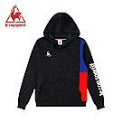 le coq sportif 法國公雞牌Solotex長袖連帽T恤 女-黑