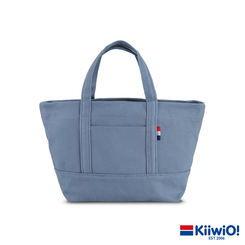 Kiiwi O! 輕便隨行系列帆布托特包 ANNE 霧藍