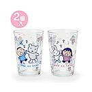 Sanrio 大寶快樂舞蹈系列玻璃對杯組(一組2個入)