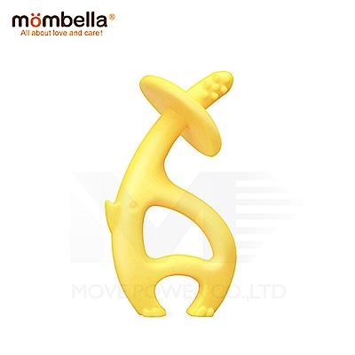 【任選】英國《mombella 》跳舞象固齒器(黃色)