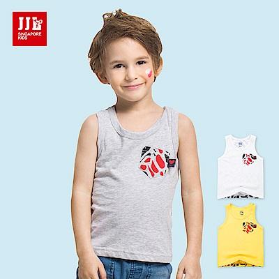 JJLKIDS 時尚動物紋造型背心(3色)