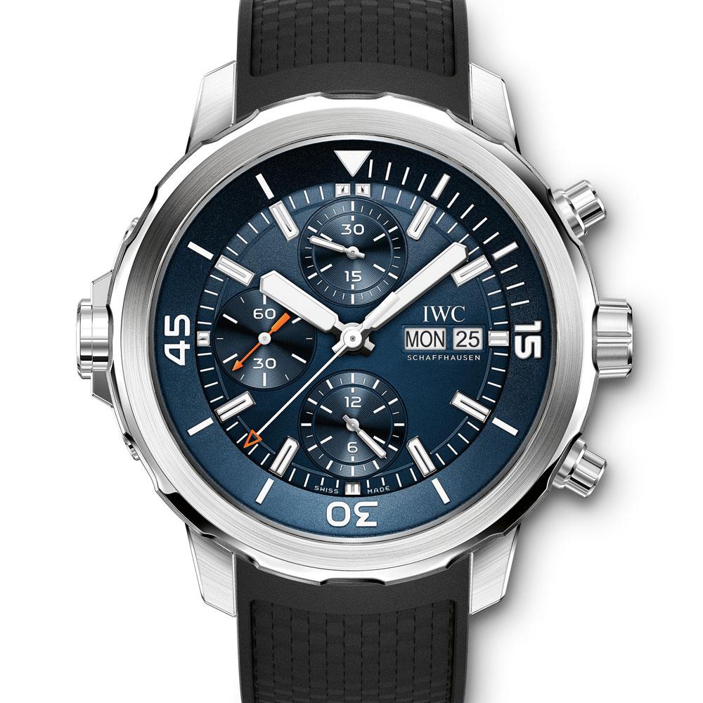 IWC 萬國海洋時計計時腕錶「雅克•伊夫•庫斯托探險之旅」特別版-44mm