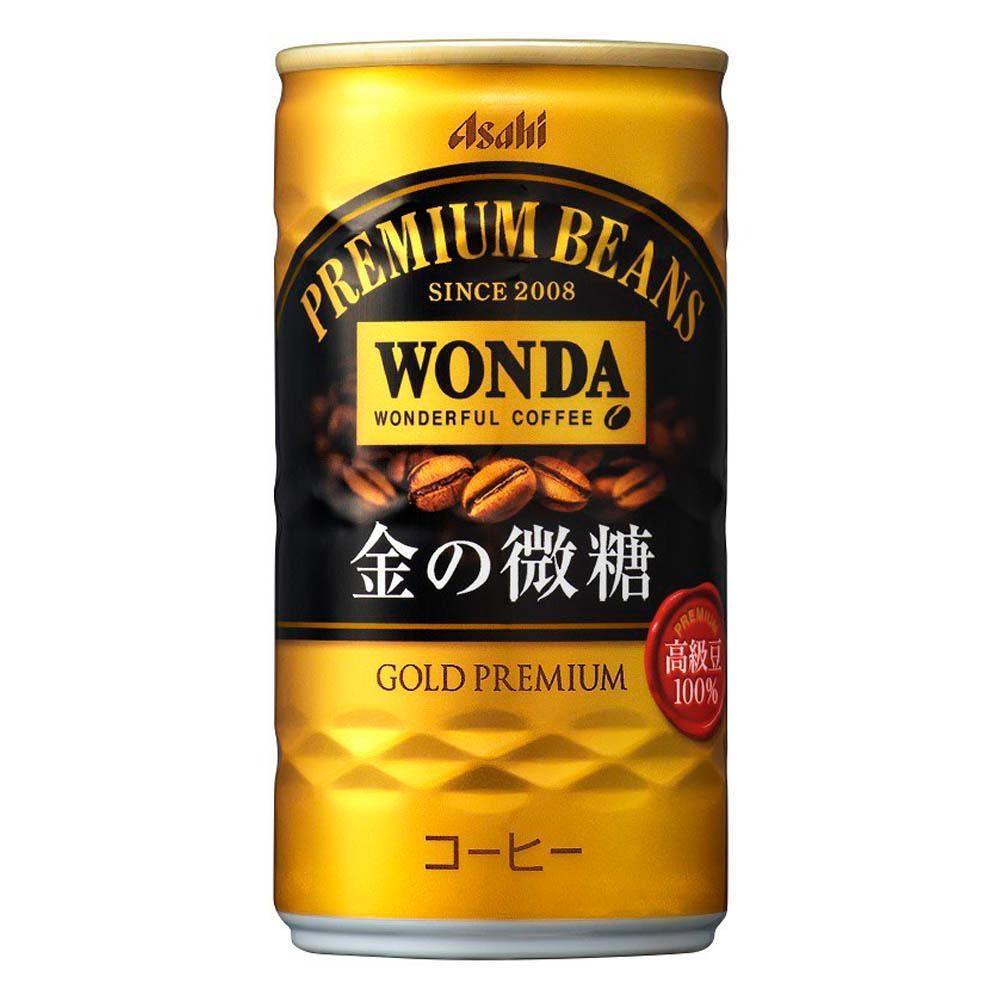朝日Asahi Wonda 金微糖咖啡(182mlX15入)