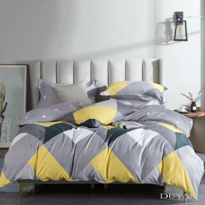 DUYAN竹漾 MIT 天絲絨-雙人加大床包枕套三件組-諾瓦拉之心