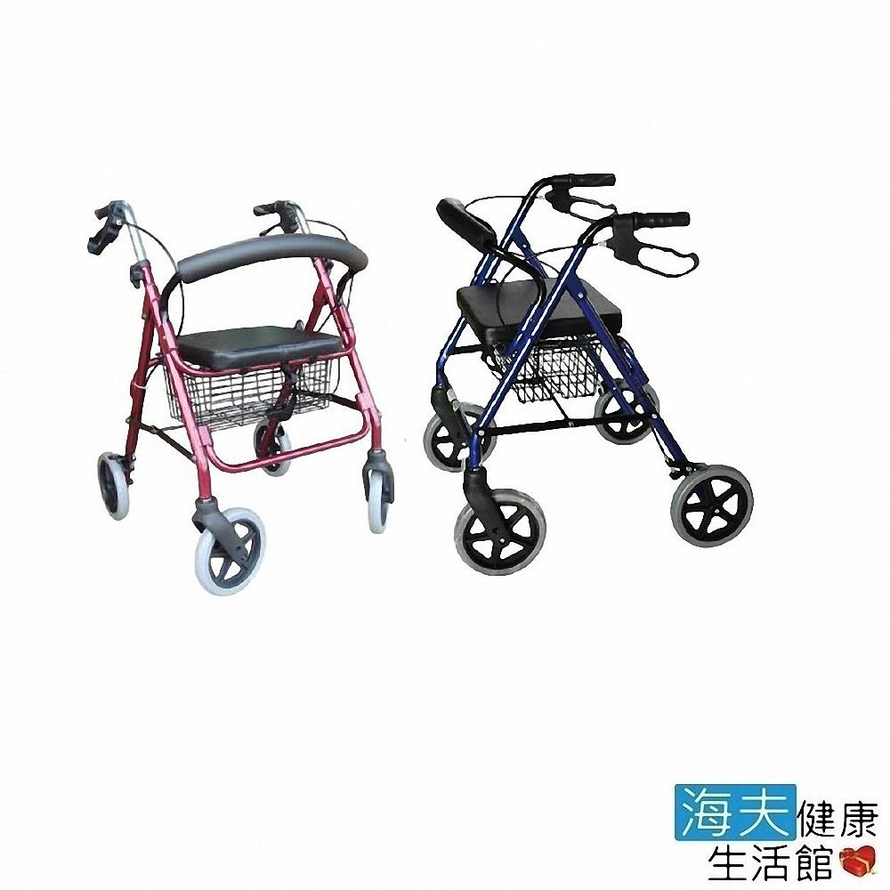 恆伸機械式助行器 (未滅菌) 建鵬 海夫 鋁合金 四輪助步車 助行車