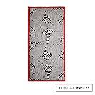 LULU GUINNESS STRIPE 圍巾
