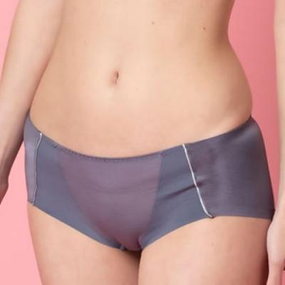 華歌爾 城市輕運動 M-LL中低腰平口褲(時尚灰) 冰涼紗網洞 透氣包臀