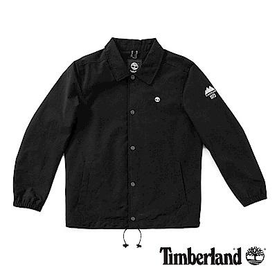 Timberland 男款黑色防水夾克外套 | A1NDC001