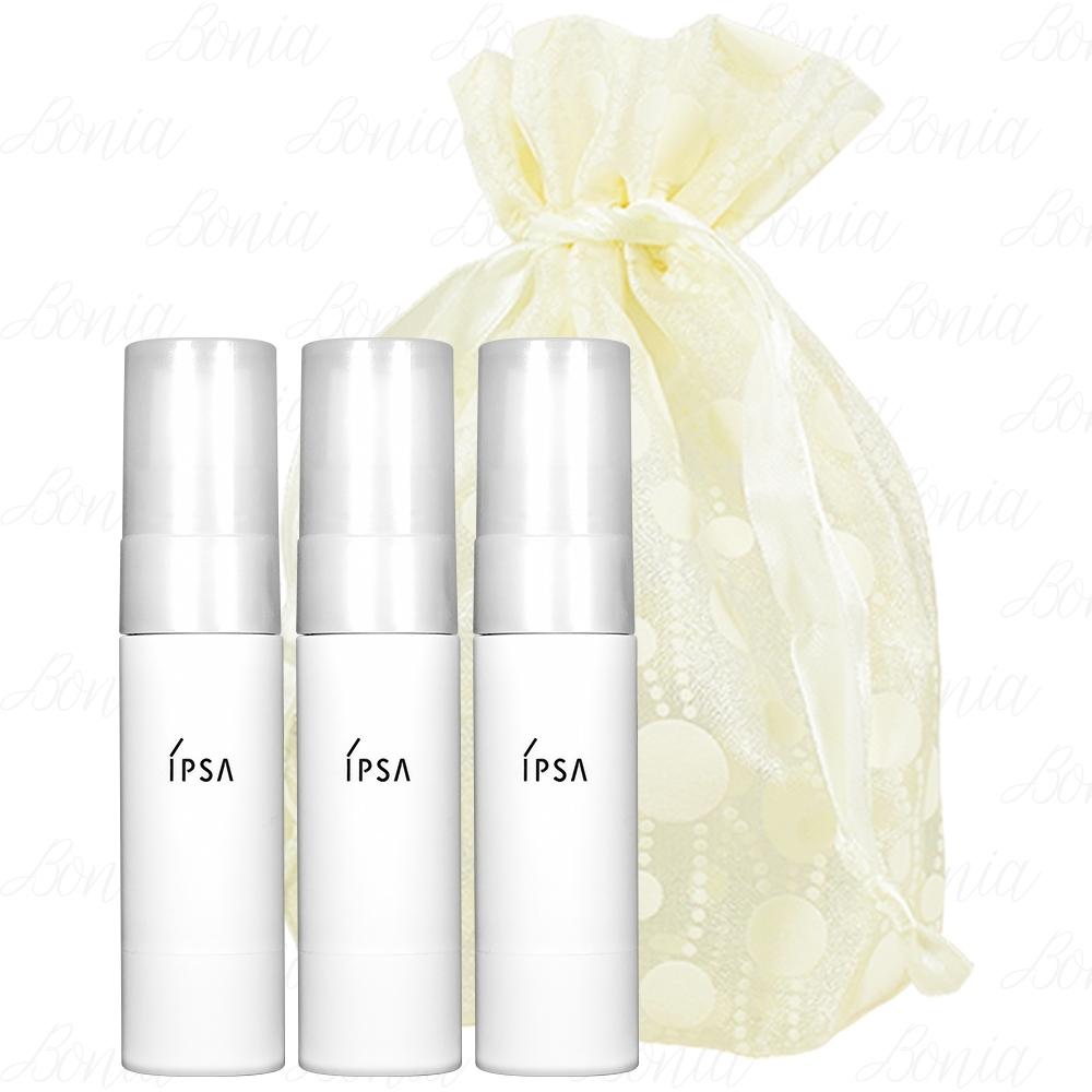 IPSA 茵芙莎 臉部抗痕防護乳EX SPF50/PA++++(9ml)*3旅行袋組