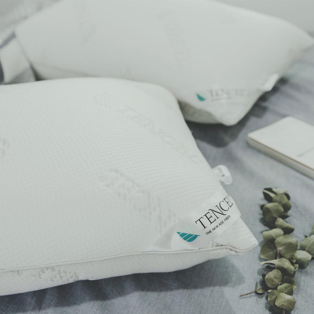 絲薇諾 舒壓抗菌天絲枕-1入(MIT枕心/枕頭)