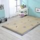 戀香 3X6尺單人舒柔透氣可折疊棉床墊(米色葉子) 床 床墊 折疊床墊 product thumbnail 1