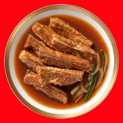 任選_老協珍 海味街 蔥燒子排(500g)(年菜預購)