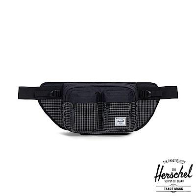 Herschel Eighteen 腰包-黑色格紋