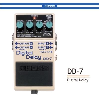 BOSS DD-7 數位延遲效果器