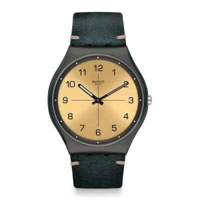 Swatch Skin Irony 超薄金屬系列手錶 TROVALIZED -42mm