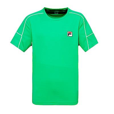 FILA男圓領T恤-綠 1TES-5011-GN