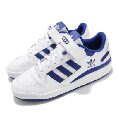 adidas 休閒鞋 Forum Low 運動 男鞋 愛迪達 基本款 簡約 舒適 穿搭 球鞋 藍 白 FY7756