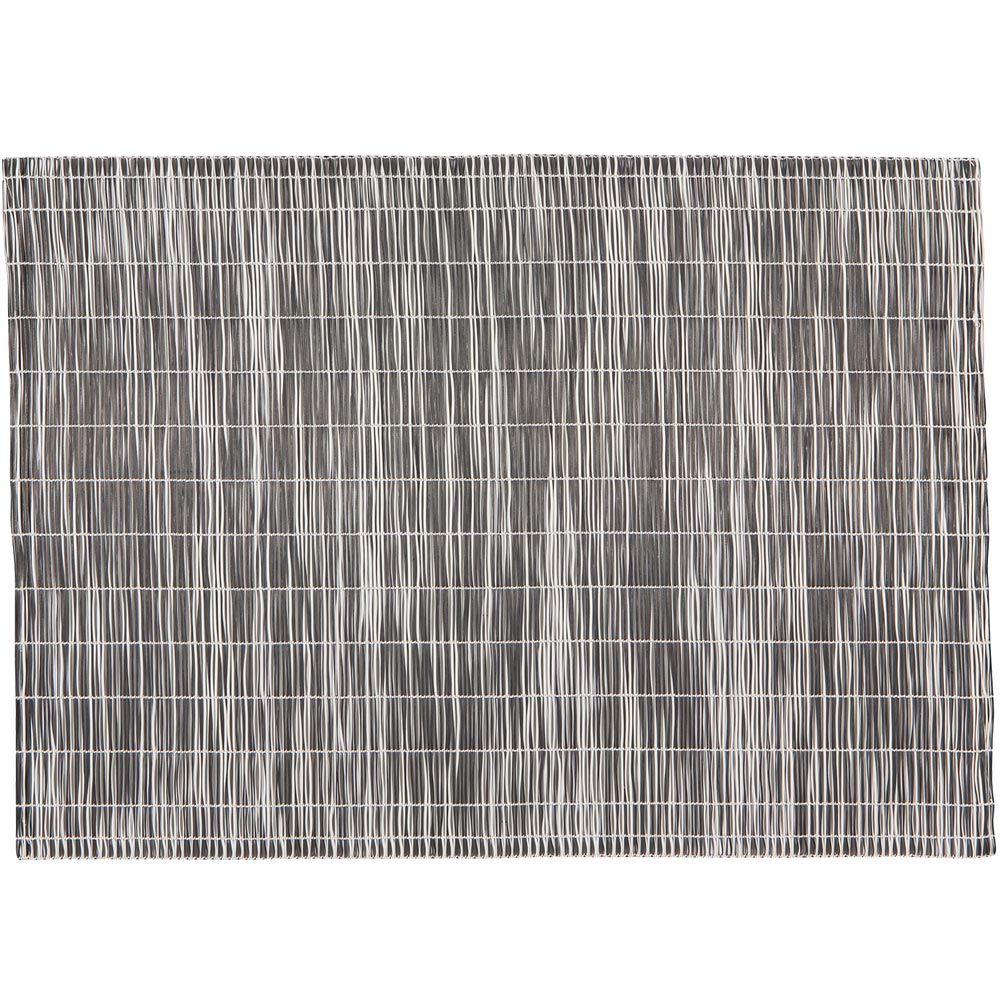 《NOW》軟質編織餐墊(黑)