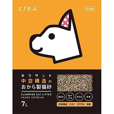 【買二送一】日本KIRA大和 空心豆腐貓砂 7L