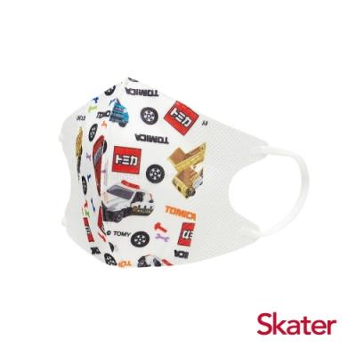 Skater立體兒童口罩-TOMICA(每包10入)