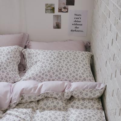 翔仔居家 台灣製 100%天絲兩用鋪棉被套&床包4件組-茶風鈴 (雙人)