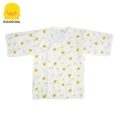 【任選】黃色小鴨《PiyoPiyo》印花紗布肚衣