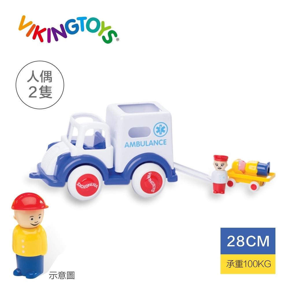 【瑞典 Viking toys】Jumbo醫療特派車(含2隻人偶)-28cm