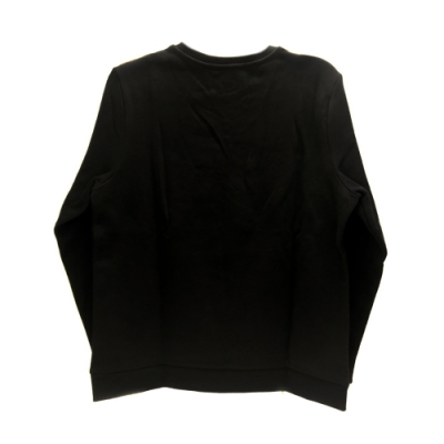 KARL LAGERFELD K/KOCKTAIL棉質水鑽長袖上衣(黑)