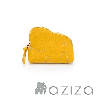 aziza 小象零錢包-黃