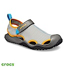 Crocs 卡駱馳 (男鞋) 激浪男士酷網涼鞋 205289-0FK