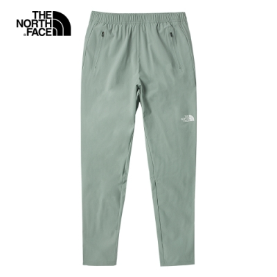 The North Face北面男款灰色吸濕排汗防潑水戶外徒步褲|53BGHDF
