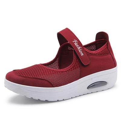 韓國KW美鞋館-簡約休閒舒適健步鞋-紅色