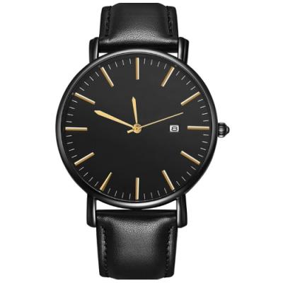 Watch-123 大器早成-美好生活日曆商務手錶(2色任選)