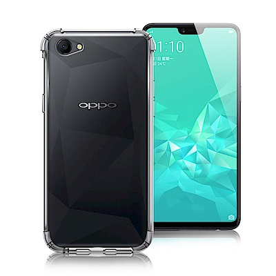 Xmart for OPPO A3 透高質感TPU+PC手機保護殼