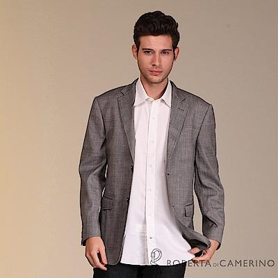 ROBERTA諾貝達 義大利原裝進口 紳士率性 羊毛獵裝 灰色