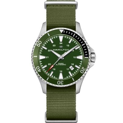 Hamilton KHAKI NAVY 卡其海軍系列機械錶(H82375961)41mm