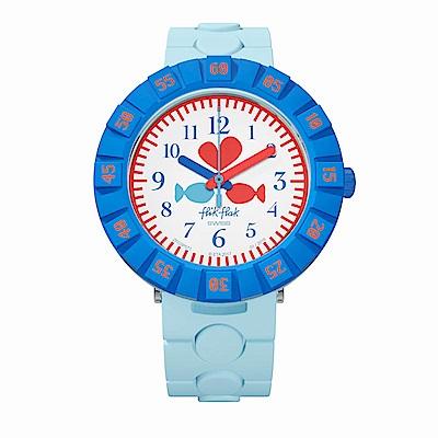 FlikFlak 兒童錶 FISH IN LOVE 愛戀雙魚手錶