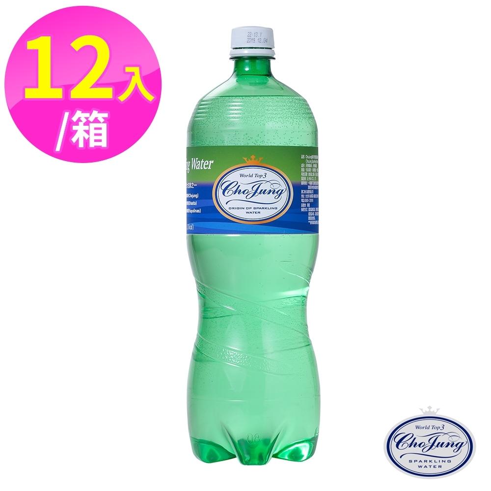 【ChoJung 椒井】天然氣泡礦泉水1500ml(12瓶/箱)