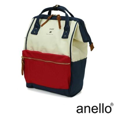 anello RE:MODEL 防潑水經典口金後背包 法國色