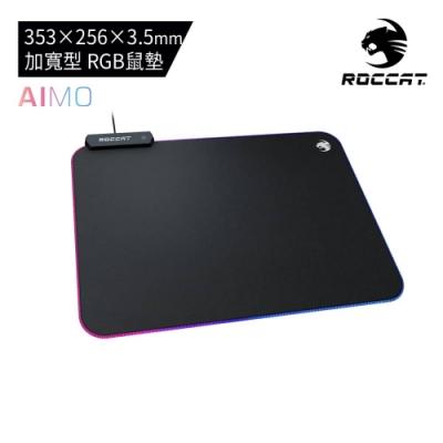 【ROCCAT德國冰豹】 Sense AIMO RGB 燈光電競滑鼠墊