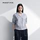 【MASTINA】休閒條紋繡花-襯衫(二色) product thumbnail 1