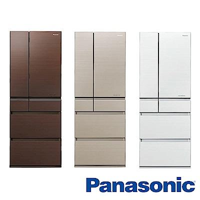 [無卡分期12期]Panasonic國際牌 六門電冰箱 NR-F603HX 日本製