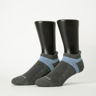 Footer除臭襪-輕壓力足弓船短襪-六雙入(黑*2+紫*2+灰*2)