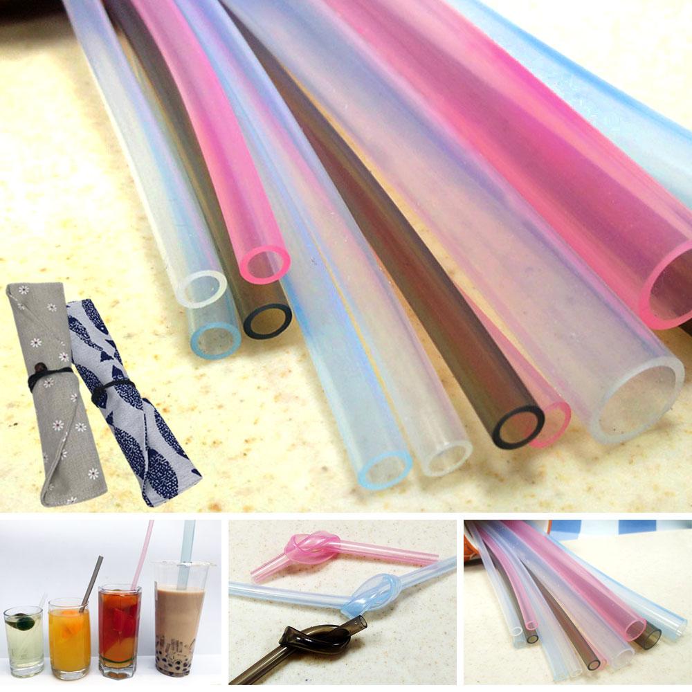 SGS環保果凍矽膠吸管7件組(贈專利環保手提3杯套)