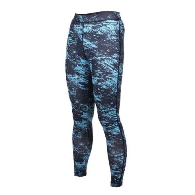 SOFO 女九分韻律褲-有氧 瑜珈 長褲 緊身褲 丈青水藍