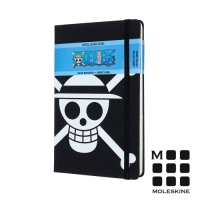 MOLESKINE One Piece航海王限量筆記本(L型) -海賊旗