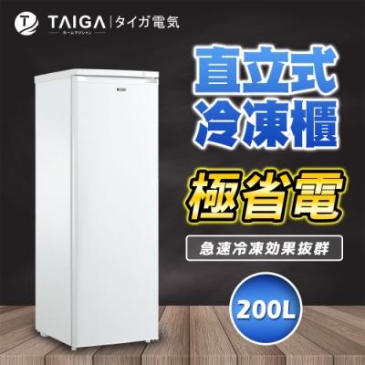 日本TAIGA 200L直立式冷凍櫃(福利品)